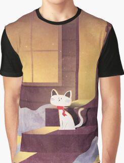 Winter Night Graphic T-Shirt