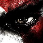 Kratos' eye by MrBliss4