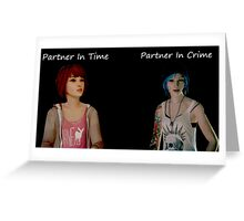 Life Is Strange Partners Greeting Card