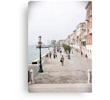 Venetian promenade Metal Print