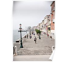 Venetian promenade Poster