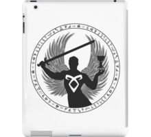 Raziel & The Mortal Instruments (The Shadowhunter's Seal) | Dark iPad Case/Skin