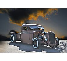 Rat Rod Ride Photographic Print