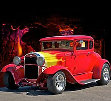 Hell Fire Hot Rod by DaveKoontz