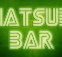 Chatsubo Bar Sticker