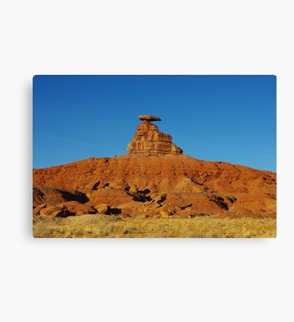 Mexican Hat, Utah Canvas Print