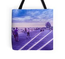 Infra red pedestrians Tote Bag