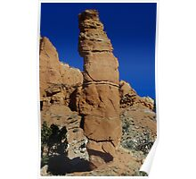 Kodachrome rock tower, Utah Poster