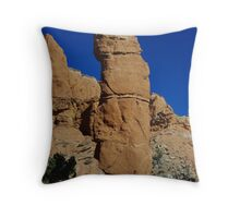 Kodachrome rock tower, Utah Throw Pillow