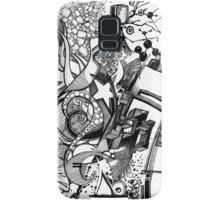 Arbitrary Milestones - Sketch Pen & Ink Illustration Samsung Galaxy Case/Skin