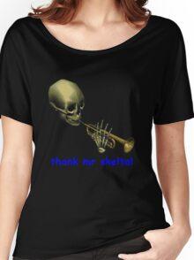 doot doot mr skeltal Women's Relaxed Fit T-Shirt