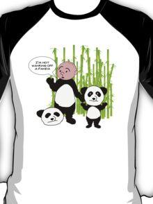 I'm not wanking off a Panda - Karl Pilkington T Shirt T-Shirt