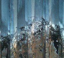 photo of rusting steel sheet by astralsid