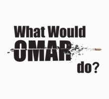 "What Would Omar Do? ""The Wire"" by WitchDesign"