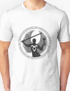 Raziel & The Mortal Instruments (The Shadowhunter's Seal) | Dark T-Shirt