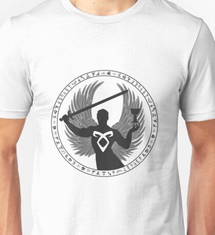 Raziel & The Mortal Instruments (The Shadowhunter's Seal) | Dark Unisex T-Shirt