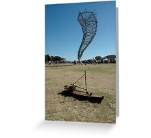 Sculpture By Sea, Stormy Weather, Australia 2006 Greeting Card