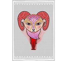 aries zodiac sign Photographic Print