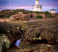 The Ocean's view of Point Lonsdale Lighthouse by Julie Begg
