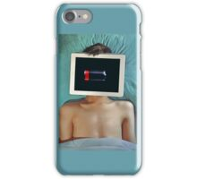 low battery iPhone Case/Skin