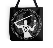Raziel & The Mortal Instruments (The Shadowhunter's Seal) Tote Bag