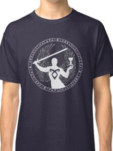 Raziel & The Mortal Instruments (The Shadowhunter's Seal) Classic T-Shirt