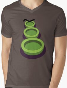 Purple Tentacle Mens V-Neck T-Shirt