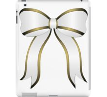 White Christmas Bow iPad Case/Skin