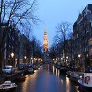 Zuiderkerk canals by esmerose