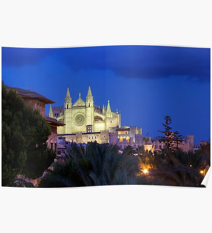 Sa Seu Cathedral from City Walls Poster