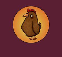 Red Chicken Standing Tall Unisex T-Shirt