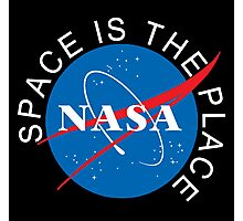 Space Is The Place Photographic Print