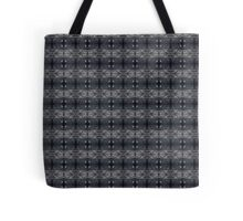 peaceful snowy night chalkboard scene pattern Tote Bag