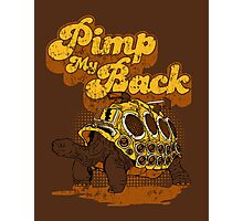 Pimp My Back Photographic Print