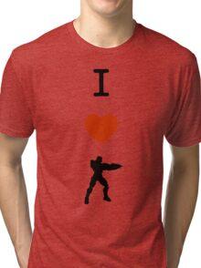 Halo - I Love Master Chief Tri-blend T-Shirt