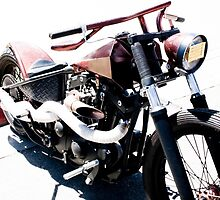 Steampunk Custom Motorcycle by laurenelisabeth