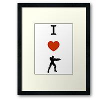 Halo - I Love Master Chief Framed Print