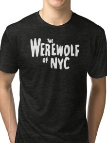 The Werewolf of NYC (Logo) Tri-blend T-Shirt