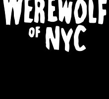 The Werewolf of NYC (Logo) by manhwacomics