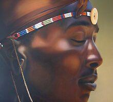 Massai Worrior by Edgar Pretorius