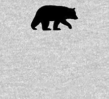 Black Bear Silhouette Unisex T-Shirt
