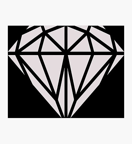 Diamond Photographic Print