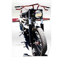 Steampunk Style Custom Motorcycle Poster