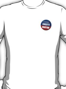 "I Voted Carcetti for Mayor (pin) - ""The Wire"" T-Shirt"