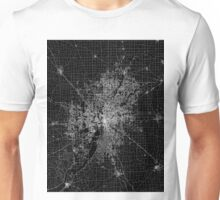 Indianapolis map Indiana Unisex T-Shirt