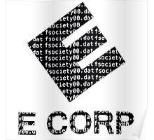 E Corp - Fsociety Poster