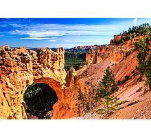 Natural Bridge at Bryce Canyon Photographic Print