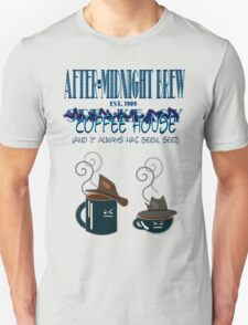 After Midnight Brew Coffee Shop Speakeasy T-Shirt