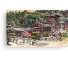 Chi Lin Nunnery Canvas Print