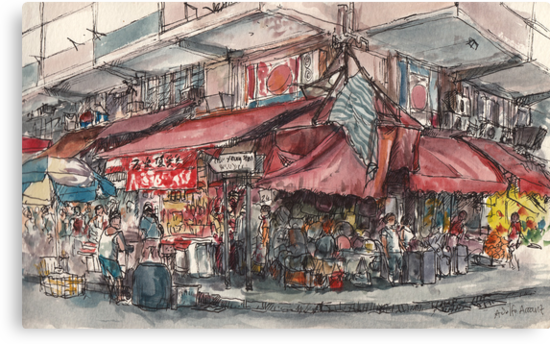 North Point street market by Adolfo Arranz